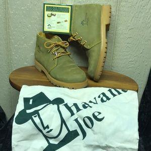 Havana Joe women's Green Suede Leather Chukka Boot